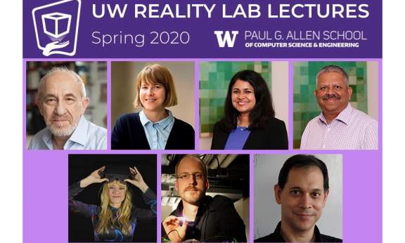 The spring 2020 Reality Lab Lecture lineup