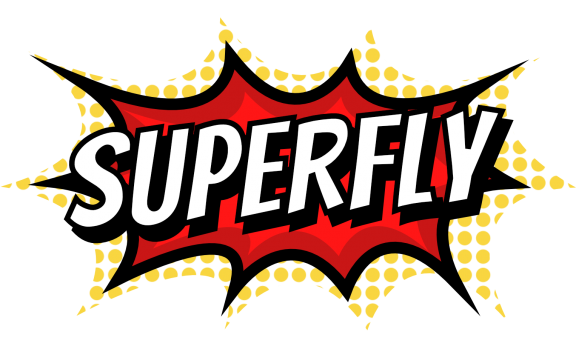 Superfly VR game logo